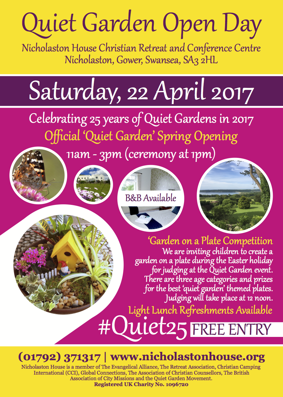 Quiet Garden Open Day
